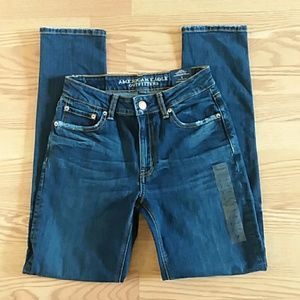 Nwt american eagle high rise skinny jeans size 2